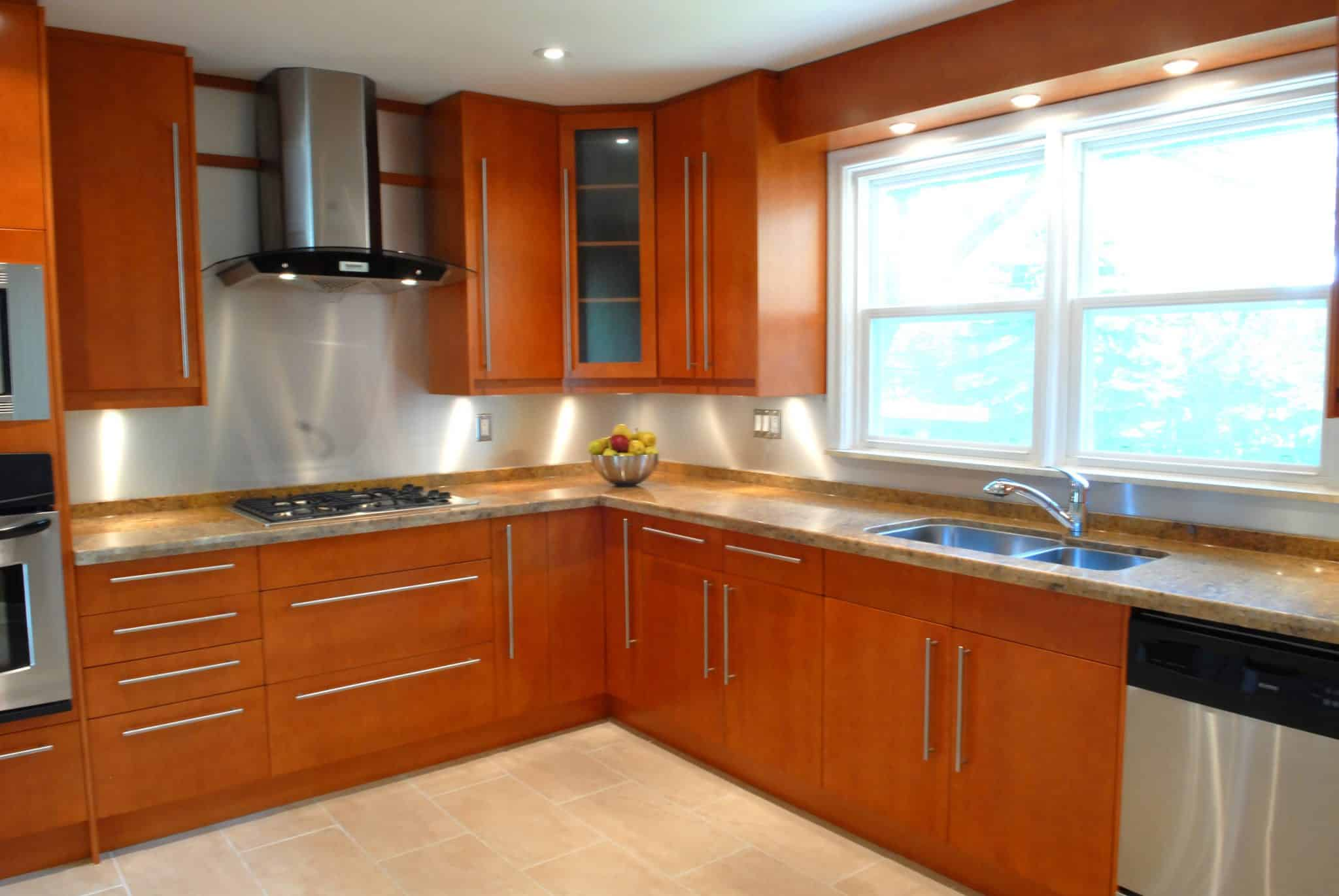 Concord Maple Golden Honey Stain__ac12__Burbank Dr.  Toronto.
