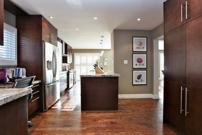 Custom Kitchen Cabinets: Painted vs. Stained - Apico Kitchens