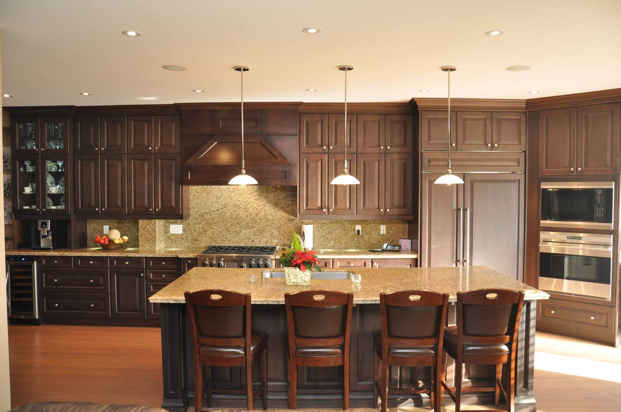 Bayview Maple, Dark Chocolate Stained__aa19__Forestwalk Cir.  Mississauga