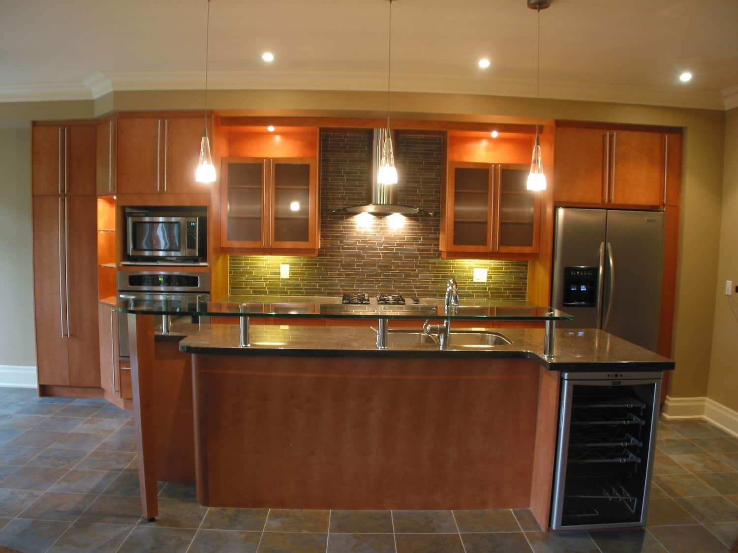 Concord Maple Custom Stained__ac13__Soudan Ave.  Toronto.