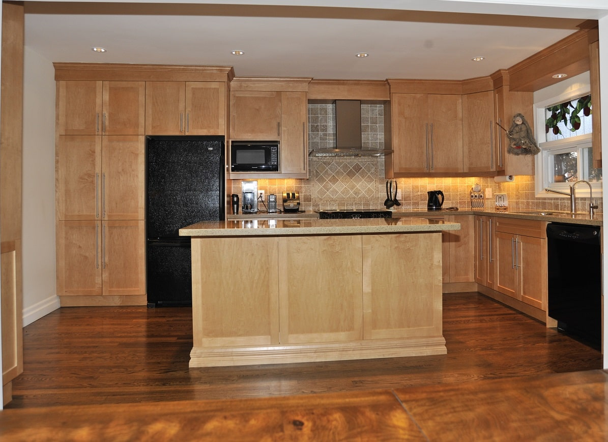 Shaker Maple Stained Honey__ab11__Woodsworth Rd. North York